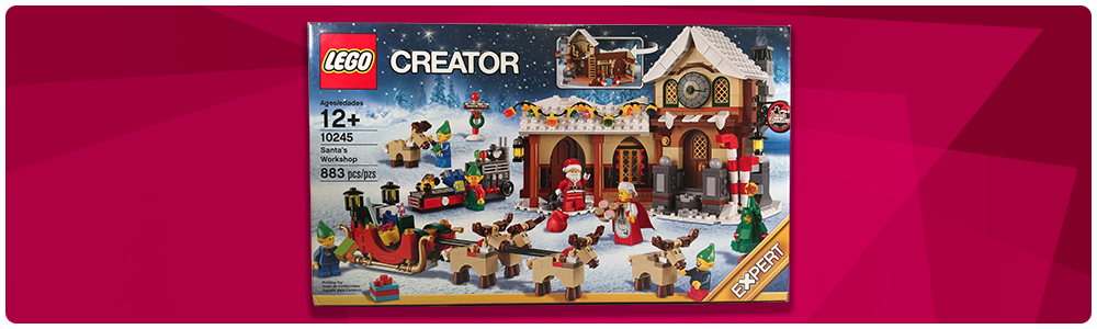 Lego Set Review: 10245 Santa's Workshop