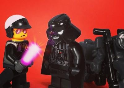 Bad Cop vs. Darth Vader