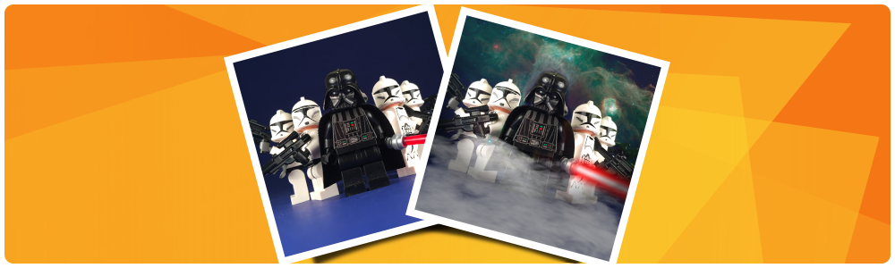 Behind the Scenes: Dark Side Lego Instagram post