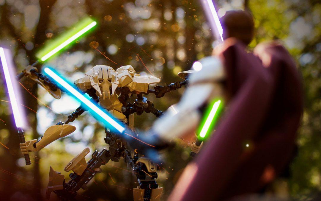 General Grievous Vs Obi-Wan